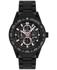 Tag Heuer Modular Connected 2.0 Men's Swiss Carrera Black Ceramic Bracelet Smart Watch 45Mm Sbf8a8013.80Bh0933