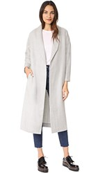 Ayr Robe Coat Light Grey