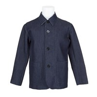Julien David Reversible Jacket Indigo