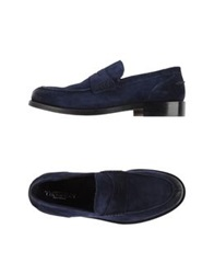 Thompson Moccasins Blue