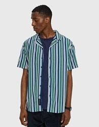 Native Youth Bay S Sleeve Shirt In Green
