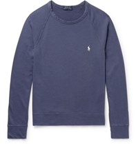 Polo Ralph Lauren Loopback Cotton Jersey Sweatshirt Navy