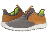 Puma Ignite Spikeless Sport Smoked Pearl Cathay Spice Men's Golf Shoes Tan