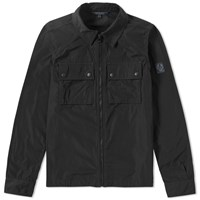 Belstaff Shawbury Shirt Jacket Black