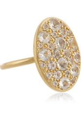 Elizabeth And James Constance Gold Plated Topaz Ring 7