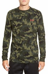 Men's Under Armour 'Amplify Camo' Long Sleeve Thermal Moisture Wicking T Shirt