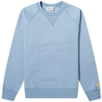 Carhartt Wip Chase Sweat Blue