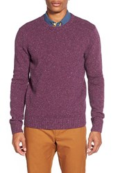 Men's Original Penguin Donegal Lambswool Blend Crewneck Sweater