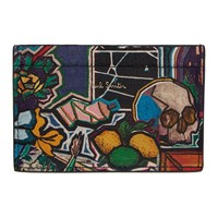 Paul Smith Multicolor Artist Studio Card Holder