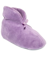 Muk Luks Chenille Boot Slippers Women's Shoes Lavender