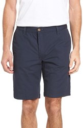 Tailor Vintage Men's Reversible Walking Shorts Navy Seersucker Navy