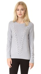 Ramy Brook Leandre Sweater Silver