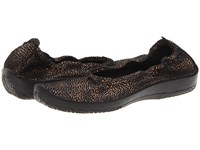 Arcopedico L15d Black Combo Women's Flat Shoes