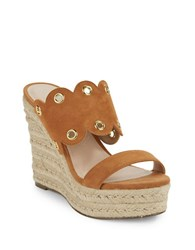 Charles By Charles David Fallon Espadrille Wedges Rust