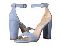 Pelle Moda Bonnie Powder Blue Suede Women's Shoes