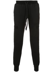 Rta Drawstring Track Pants Cotton S Black