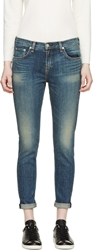 Rag And Bone Blue Chamberlain Wash Dash Jeans