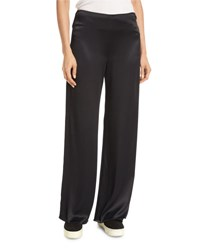 Vince Fluid Wide Leg Pants Black