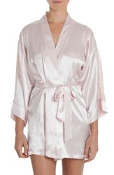 In Bloom By Jonquil Women's Satin Robe Blush