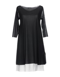 Almeria Short Dresses Black