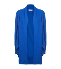 Escada Sport Wrap Tie Cardigan Female Blue