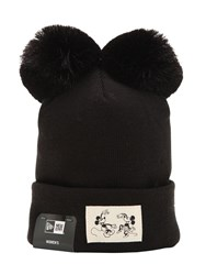 New Era Disney Knit Wmns Hat Black