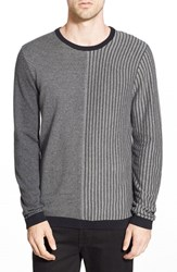Men's The Rail Mixed Stripe Crewneck Sweater 2 For 80