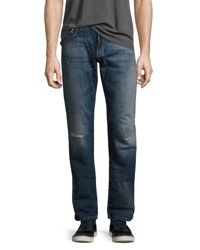 Mavi Jeans Zach Ripped White Edge Blue