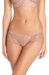 Free People Women's 'Hold The Line' Lace Briefs Neutral Combo