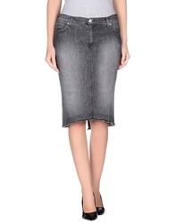 Richmond Denim Denim Skirts Black