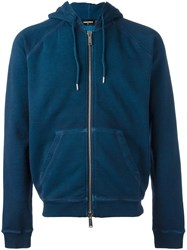 Dsquared2 Classic Hoodie Blue