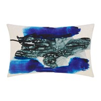 Tom Dixon Blot Cushion Blue Neutral