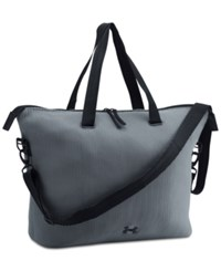 Under Armour Storm On The Run Tote Steel Black