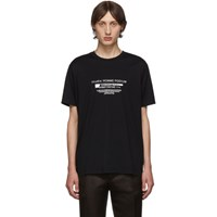 Givenchy Black Homme Podium T Shirt