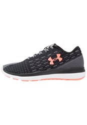 Under Armour Threadbone Sling Neutral Running Shoes Black Rhino Gray London Orange