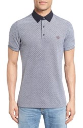 Fred Perry Men's Polka Dot Pique Polo
