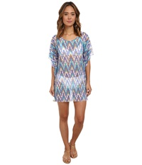 Athena Desert Escape Tunic Cover Up Multi Women's Swimwear
