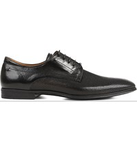 Stemar Perforated Derby Shoes Black