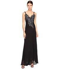 Versace Long Evening Gown Nero Women's Dress Black