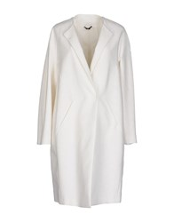 Tonello Coats And Jackets Full Length Jackets Women White
