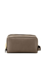 Tom Ford Double Zip Toiletry Bag Gray