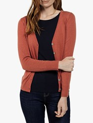 Fat Face Lizzie Cardigan Mid Red
