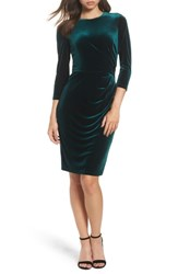 Eliza J Velvet Sheath Dress