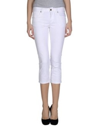 Burberry Brit Denim Capris White