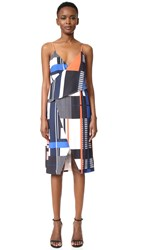 Finders Keepers Hold Us Dress Static Print