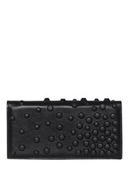 Dsquared Studded Napa Leather Clutch