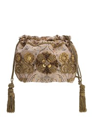 Etro Embroidered Techno Jacquard Bag Cipria