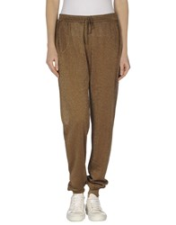 Roberto Collina Trousers Casual Trousers Women Brown