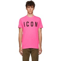 Dsquared2 Pink Cool Fit T Shirt