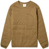 Snow Peak Flexible Insulated Pullover Brown